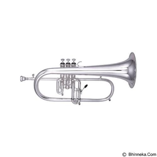 CAVALIERS Flugel Horn [CFG-A410] - Nickel - Terompet