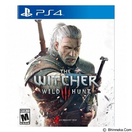 CD PROJEKT RED DVD PS4 Witcher 3 Wild Hunt (Merchant) - CD / DVD Game Console