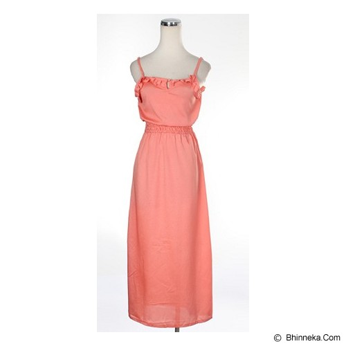 CECECICIKU HOUSE Longdress Import [CD-272] - Orange Muda - Maxi Dress Wanita