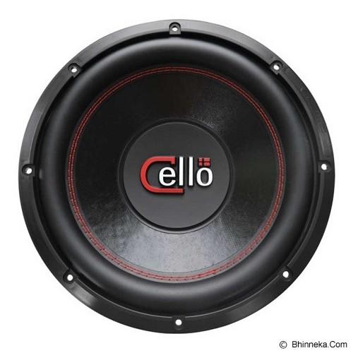 CELLO S12 DVC 2 Ohm - CAR AUDIO SYSTEM