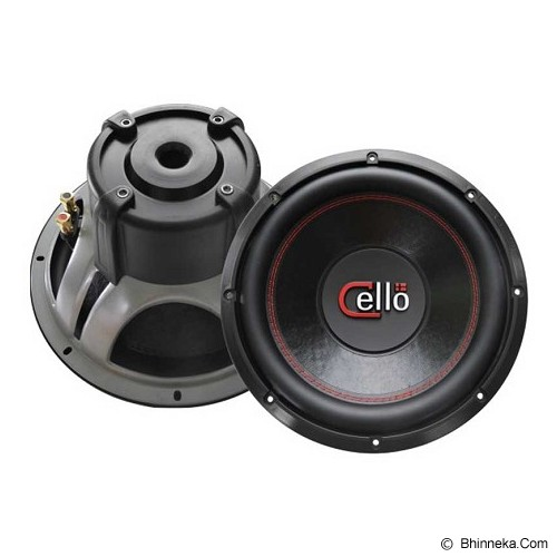 CELLO S12 DVC 2 Ohm - Car Audio System
