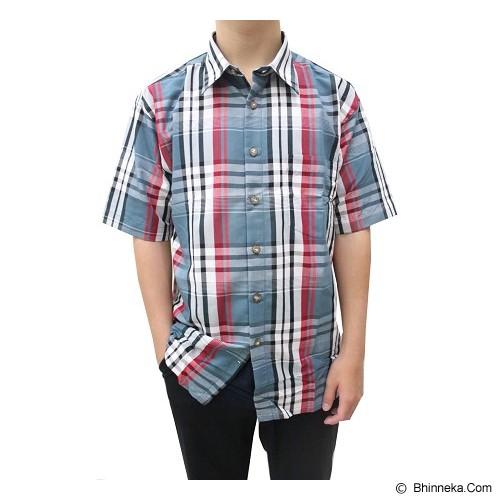 CENELEA Casual Shirt For Men Size M [CN14] (V) - Kemeja Lengan Pendek Pria