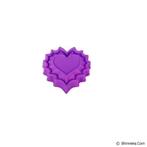 CETAKAN JELLY Single Love Heart - Cetakan Kue