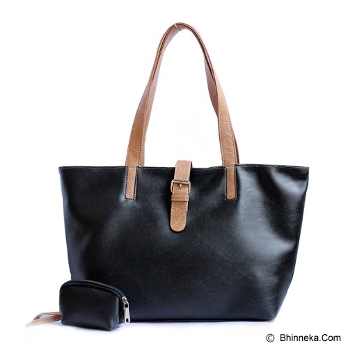 CEVIRO Sakura Gicho - Black - Shoulder Bag Wanita