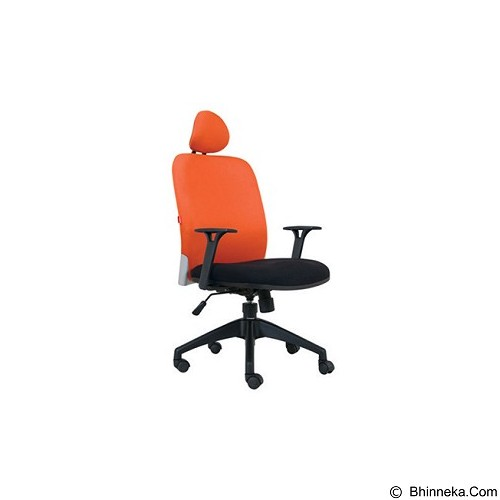 CHAIRMAN Modern Chair [MC 1301 HR] - Orange (Merchant) - Kursi Kantor