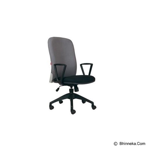 CHAIRMAN Modern Chair [MC 1401] - Grey (Merchant) - Kursi Kantor