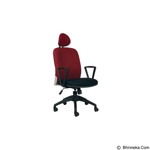 CHAIRMAN Modern Chair [MC 1401 HR] - Red (Merchant) - Kursi Kantor