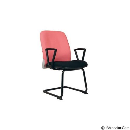 CHAIRMAN Modern Chair [MC 1405] - Pink (Merchant) - Kursi Kantor