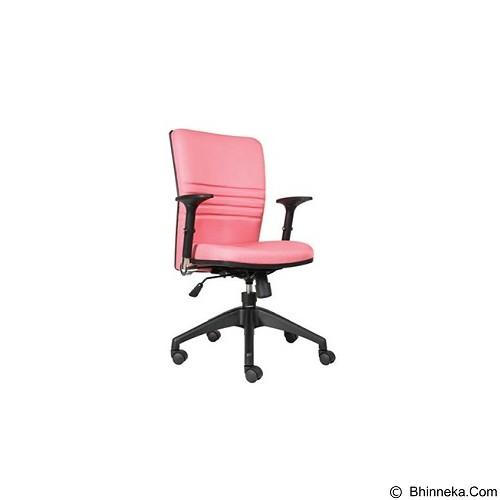 CHAIRMAN Modern Chair [MC 1703] - Pink (Merchant) - Kursi Kantor