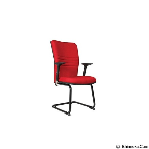 CHAIRMAN Modern Chair [MC 1705] - Red (Merchant) - Kursi Kantor