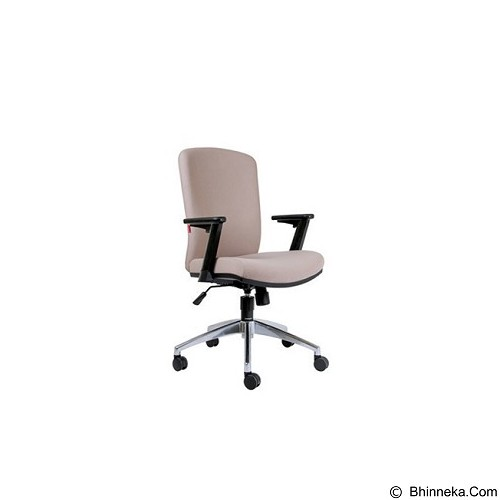 CHAIRMAN Modern Chair [MC 2001 A] - Cream (Merchant) - Kursi Kantor