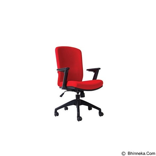 CHAIRMAN Modern Chair [MC 2001] - Red (Merchant) - Kursi Kantor