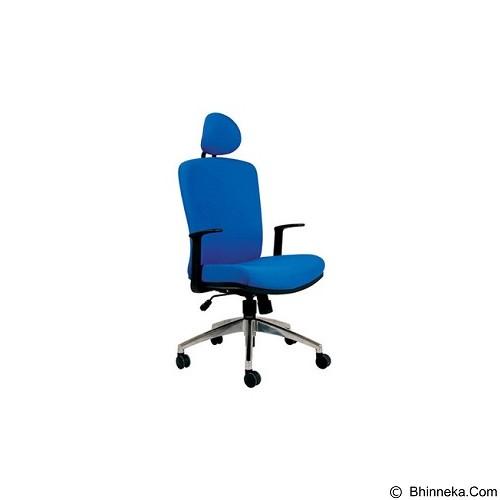 CHAIRMAN Modern Chair [MC 2101 HRA] - Blue (Merchant) - Kursi Kantor