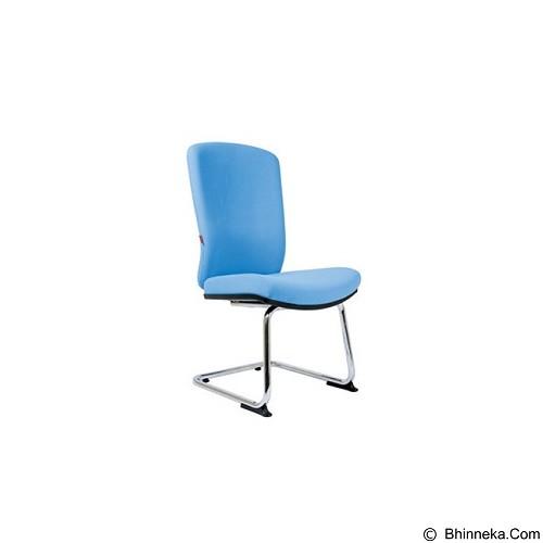 CHAIRMAN Modern Chair [MC 2155 A] - Blue (Merchant) - Kursi Kantor
