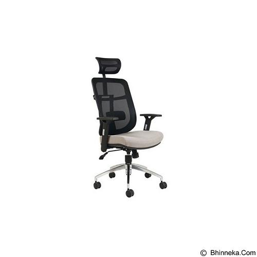 CHAIRMAN Topstar Series Dogma Kursi Kantor [TS 02201 A] - Grey (Merchant) - Kursi Kantor