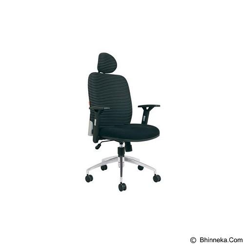CHAIRMAN Modern Chair [MC 1201 HRA] - Black (Merchant) - Kursi Kantor