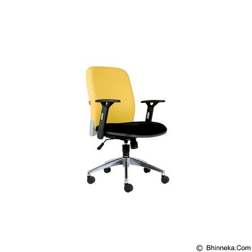 CHAIRMAN Modern Chair [MC 1203 A] - Yellow (Merchant) - Kursi Kantor