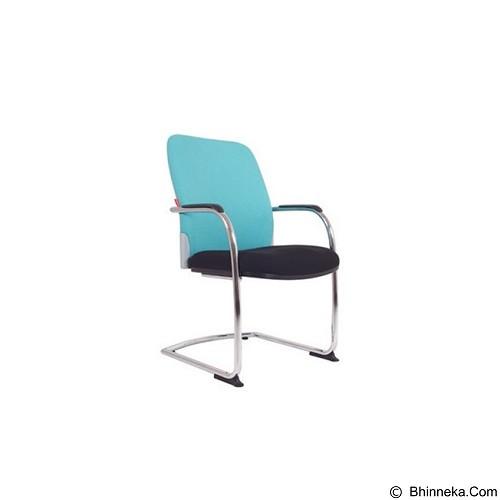 CHAIRMAN Modern Chair [MC 1205 A] - Blue (Merchant) - Kursi Kantor