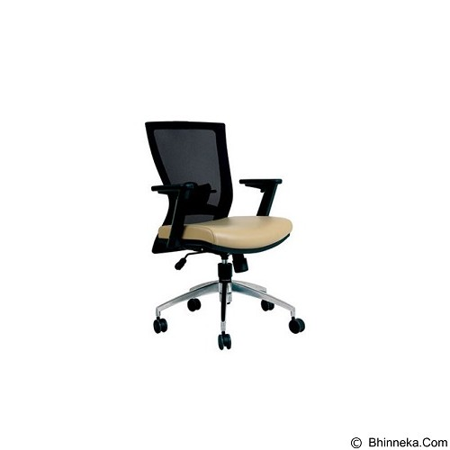 CHAIRMAN Topstar Series Kursi Kantor [TS 01003 A] - Cream (Merchant) - Kursi Kantor