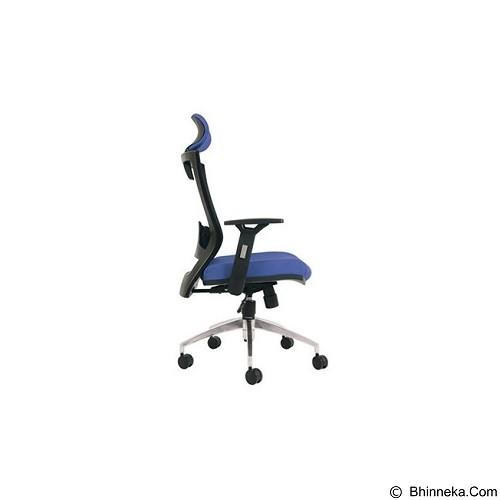 CHAIRMAN Topstar Series Kursi Kantor [TS 01101 A] - Blue (Merchant) - Kursi Kantor