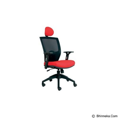 CHAIRMAN Topstar Series Kursi Kantor [TS 01401] - Red (Merchant) - Kursi Kantor