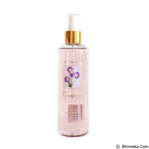 CHAMPAGNE Lily of the Valley Body Splash 250 ml (Merchant) - Body Spray untuk Wanita