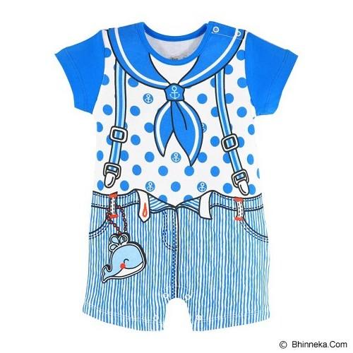 FIRST MOVEMENT Jumper Sailor Boy Size 9-12M - Jumper Bepergian/Pesta Bayi dan Anak
