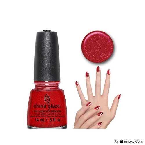 CHINA GLAZE Ruby Pumps - Cat Kuku