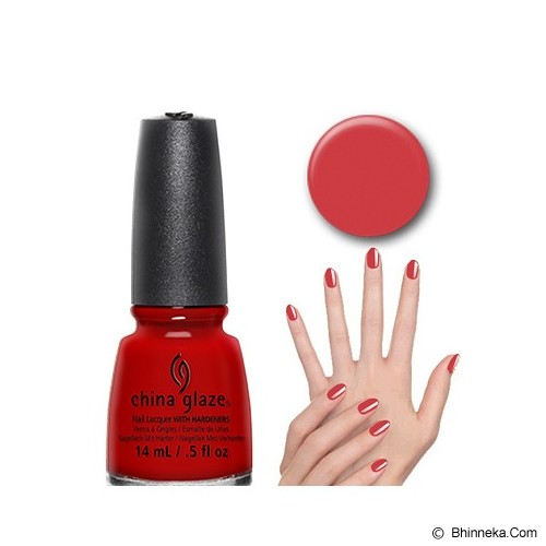 CHINA GLAZE Scarlet - Cat Kuku