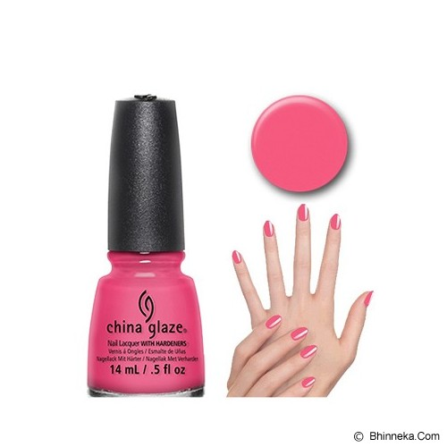 CHINA GLAZE Shocking Pink - Cat Kuku