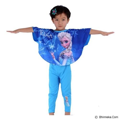 CHLOE'S CLOZETTE Piyama Frozen Bat Wing Size 110 5Y [PJ-47] - Setelan / Set Bepergian/Pesta Bayi dan Anak