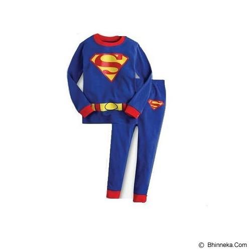 CHLOE'S CLOZETTE Piyama Superman Size 90 2Y [PJ-28] - Setelan / Set Bepergian/Pesta Bayi dan Anak