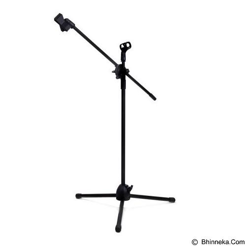 CHOKY RESISTOR EST.2016 Tripod Holder Mikrofon 2 Klip NB-07 - Black (Merchant) - Microphone Aksesori