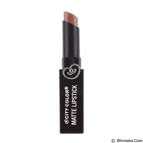 CITY COLOR Matte Lipstick Butterscotch (Merchant) - Lipstick