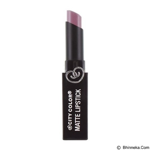 CITY COLOR Matte Lipstick Dusty Lavender (Merchant) - Lipstick