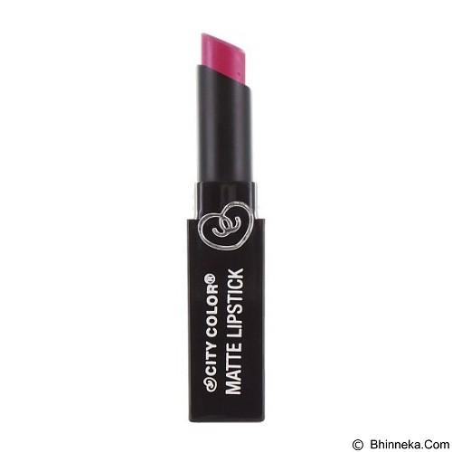 CITY COLOR Matte Lipstick Pink Violet (Merchant) - Lipstick