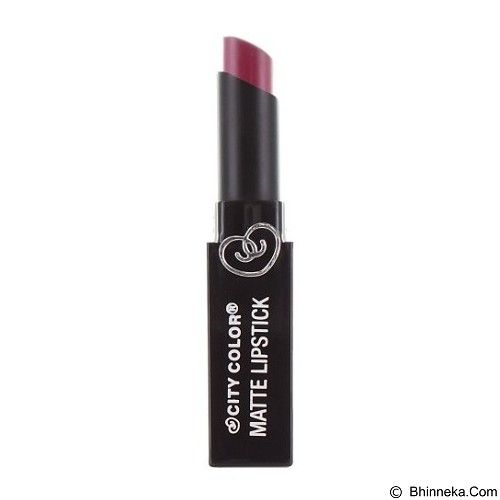 CITY COLOR Matte Lipstick Plum (Merchant) - Lipstick