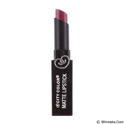 CITY COLOR Matte Lipstick Plum (Merchant) - Lipstick