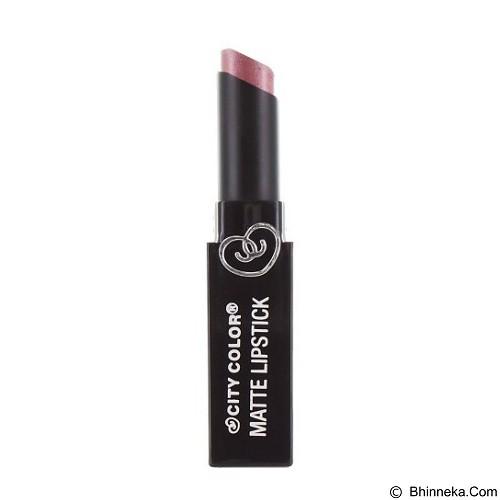 CITY COLOR Matte Lipstick Rose Gold (Merchant) - Lipstick