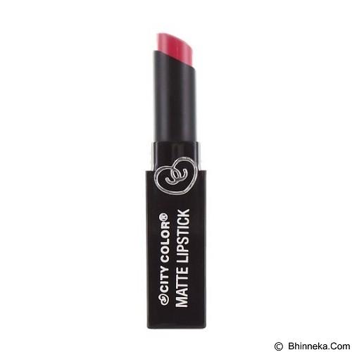 CITY COLOR Matte Lipstick Rosy Mauve (Merchant) - Lipstick