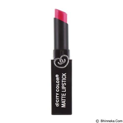 CITY COLOR Matte Lipstick Shimmer Pink (Merchant) - Lipstick
