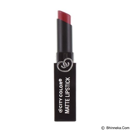CITY COLOR Matte Lipstick Wine (Merchant) - Lipstick