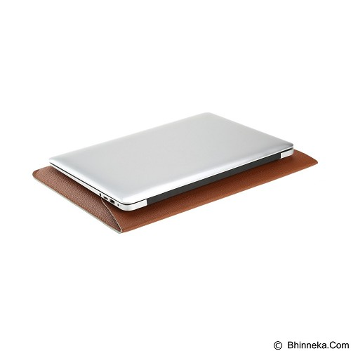 CITY COMP PU Leather Sleeve Case 13.3 Inch - Brown (Merchant) - Notebook Sleeve