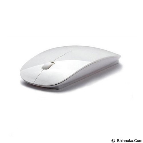 CITY COMP Ultra Slim Wireless Optical Mouse - White (Merchant) - Mouse Basic