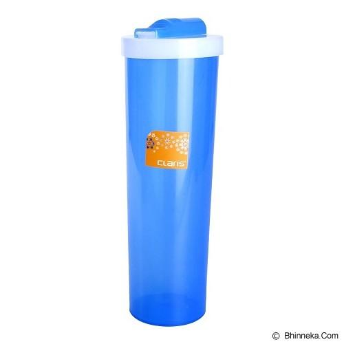 CLARIS Tumbler Bulat Round 900ml - Biru - Botol Minum