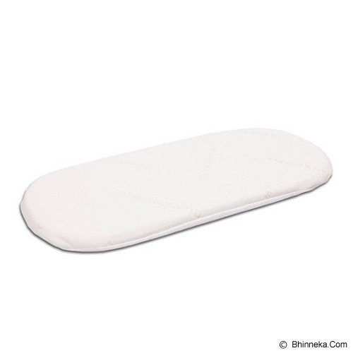 CLEVAMAMA ClevaFoam Moses Basket Mattress 66 x 28 [CM 7211] - Perlengkapan Tempat Tidur Bayi dan Anak