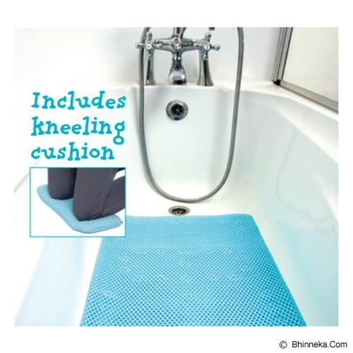 CLEVAMAMA Full Length Bath Mat with FREE Kneeling Cushion [CM 7403] - Baby Bath Tub and Accesories