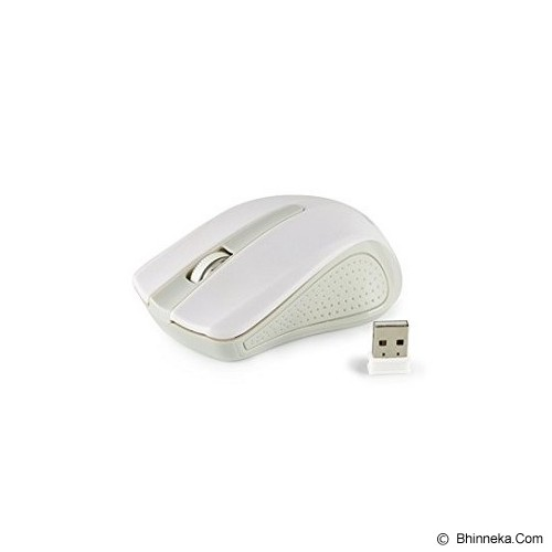 CLIPTEC Wireless Mouse [RZS846] - White - Mouse Desktop