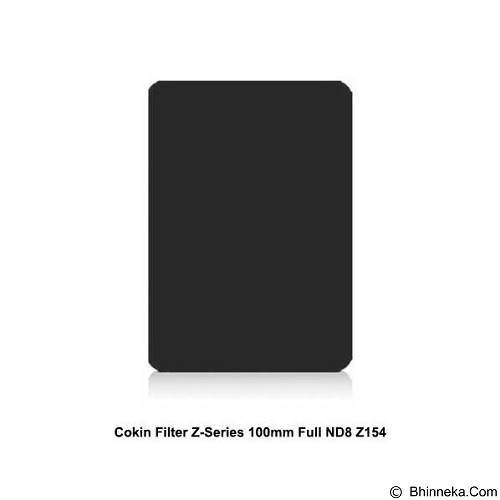 COKIN Filter Z-Series 100mm Full ND8 [Z154] - Filter Solid Nd