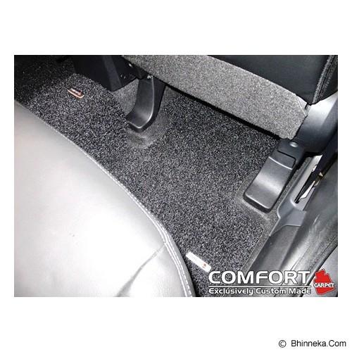 COMFORT Karpet Deluxe BMW 320 I Luxuri 1 Set+Bagasi - Black - Karpet Mobil